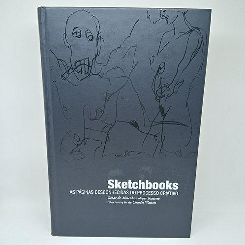 Livro Sketchbooks As Páginas Desconhecidas do Processo Criativo