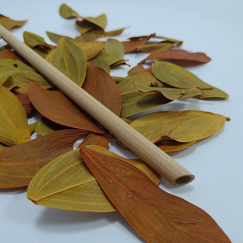 Canudo de Bambu Reutilizável