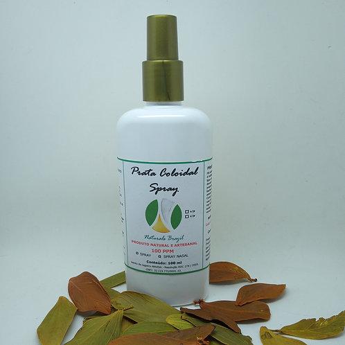 Prata Coloidal 100 Ppm 250ml Spray Naturals Brazil