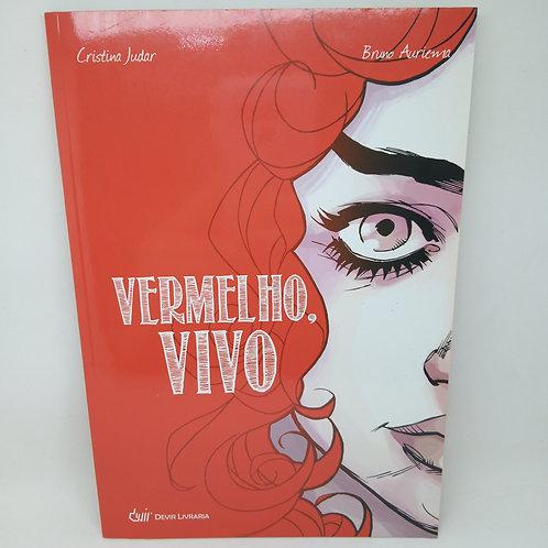 Livro Vermelho Vivo - Cristina Judar / Bruno Auriema