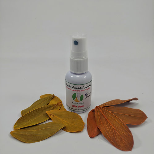 Prata Coloidal 100 Ppm 30ml Spray e Spray Nasal Naturals Brazil