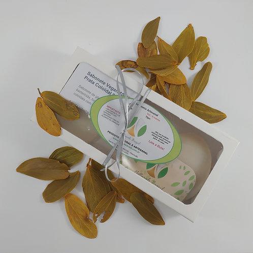 Kit c/ 3 unid Sabonete Artesanal com Prata Coloidal 100% Vegetal/ Vegan
