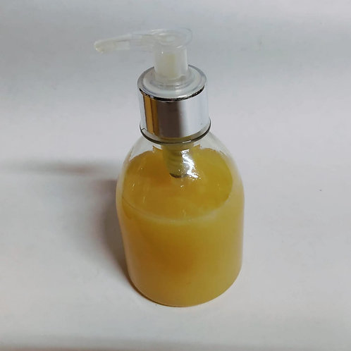 Sabonete Artesanal com Prata Coloidal  Liquido 100% Vegetal 250 ml Essencial