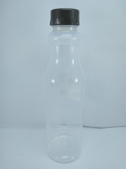 Garrafa de Plástico 1 L com Tampa Rosca Retrô Plasútil