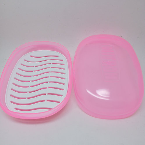 Saboneteira Plástica Com Telinha Nitron (unidade)