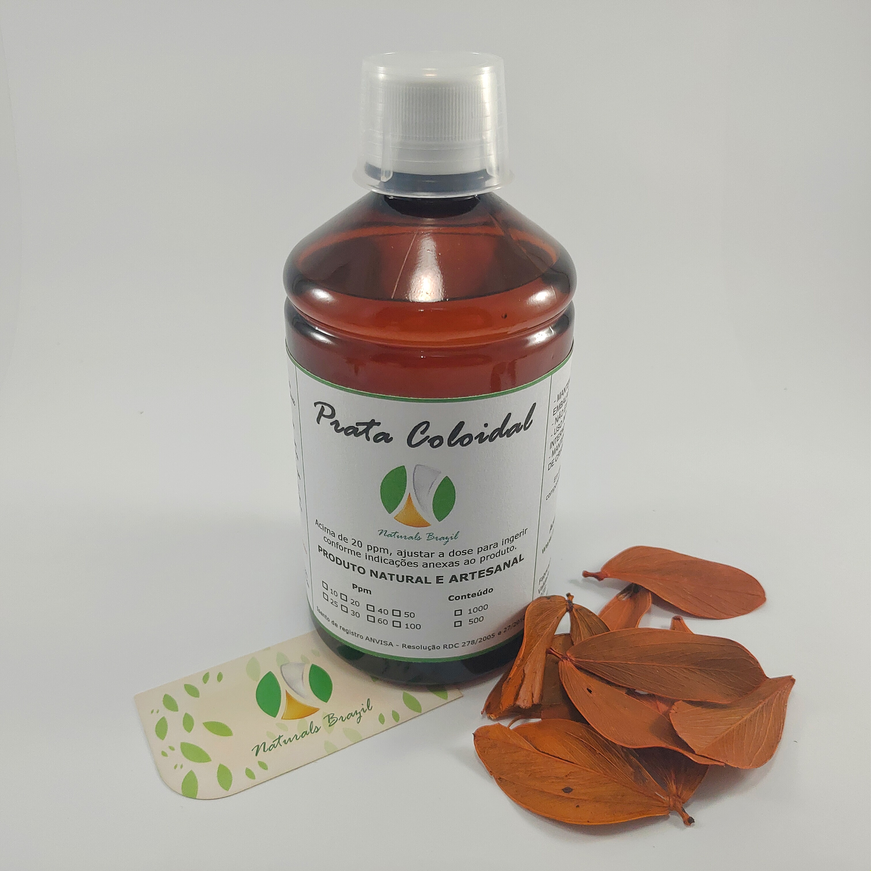 Prata coloidal 500ml