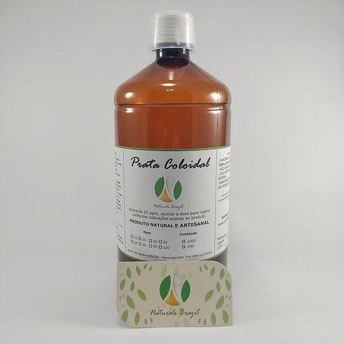 Prata Coloidal 30 Ppm 1L Naturals (Adequar a dose para 20 ppm)