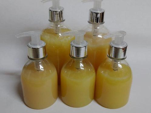 Sabonete Artesanal com Prata Coloidal  Liquido 100% Vegetal 500 ml Essencial