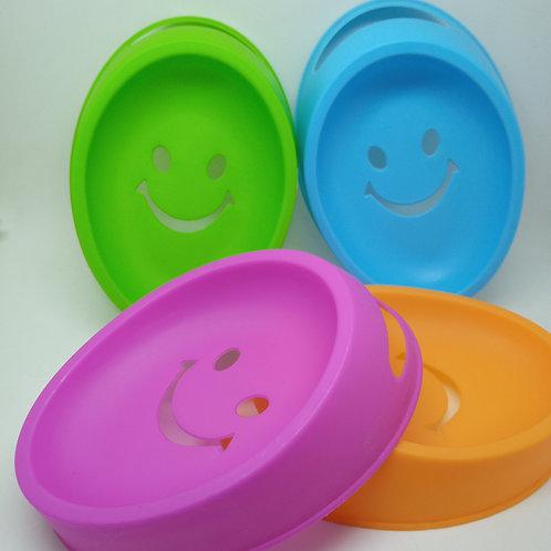 Porta Sabonete Plástico Smile diversas cores (unidade)