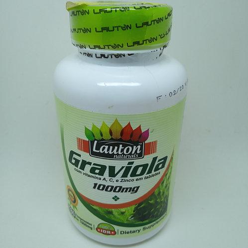 Graviola Lauton Naturals - 180 Comprimidos de 1000mg