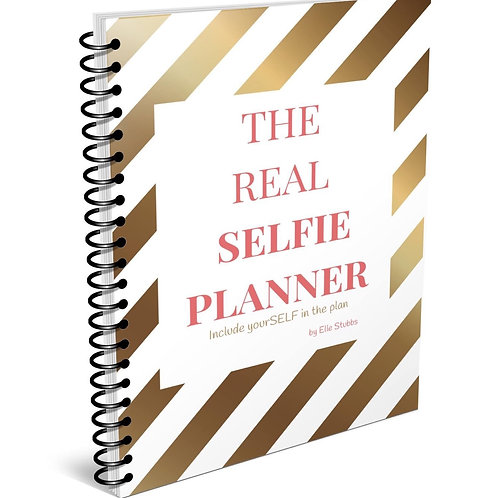 The Real Selfie Planner (Physical Copy)