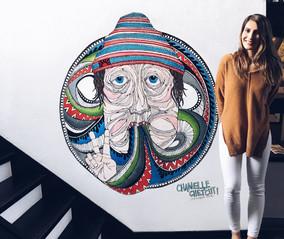 Wall Mural // PROTECT OUR WINTERS // Hakuba Japan