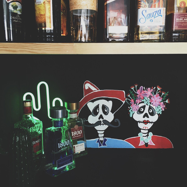Día de los Muertos // Day of the dead // Bar Mural