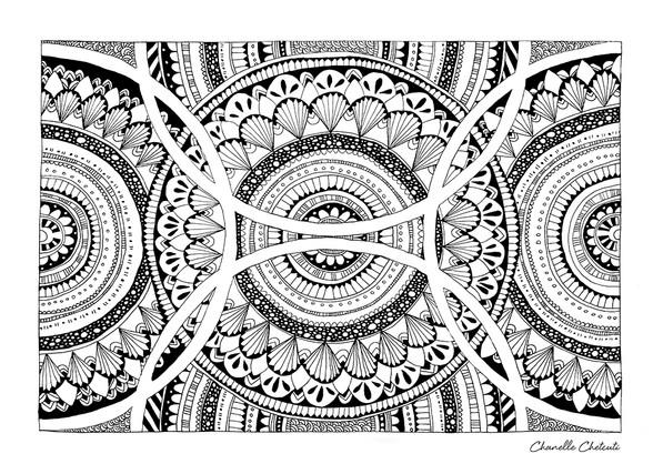 KALEIDOSCOPE Abstract Mandala