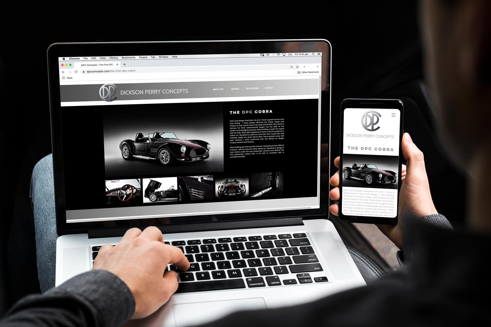 Website Design // Digital Design