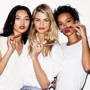 Satin Liquid Lip Campaign | NUDE BY NATURE