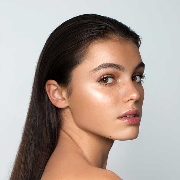 Highlight + Bronzer Campaign // NUDE BY NATURE