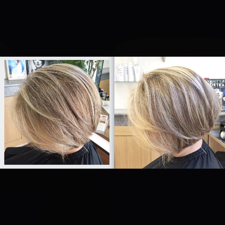 Bob with highlights  | TOKITO Hair