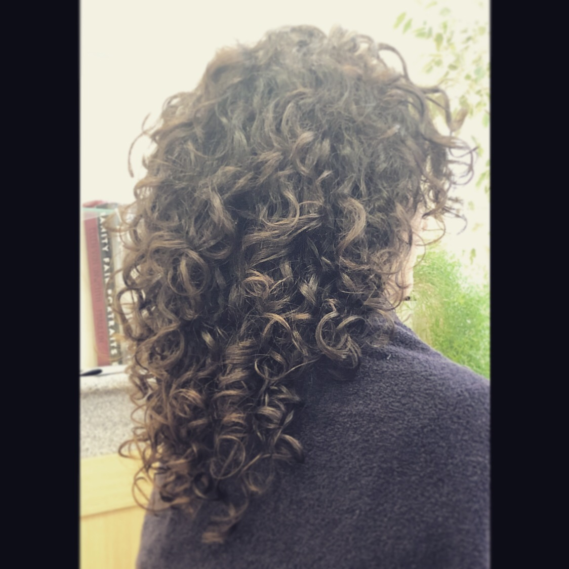 Curly haircut