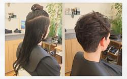 Lon hair to short hair  | TOKITO Hai