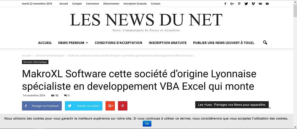 news makroxl software