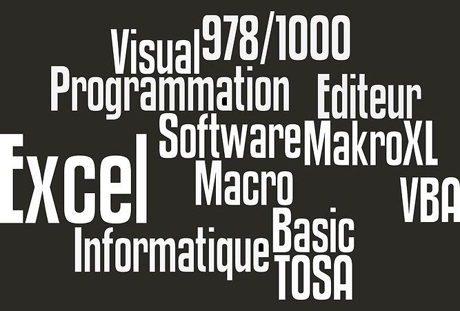 macro excel, vba excel lyon, programmation excel, editeur informatique