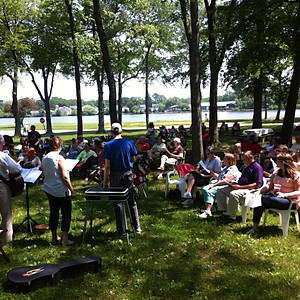 Outdoor Service and Picnic