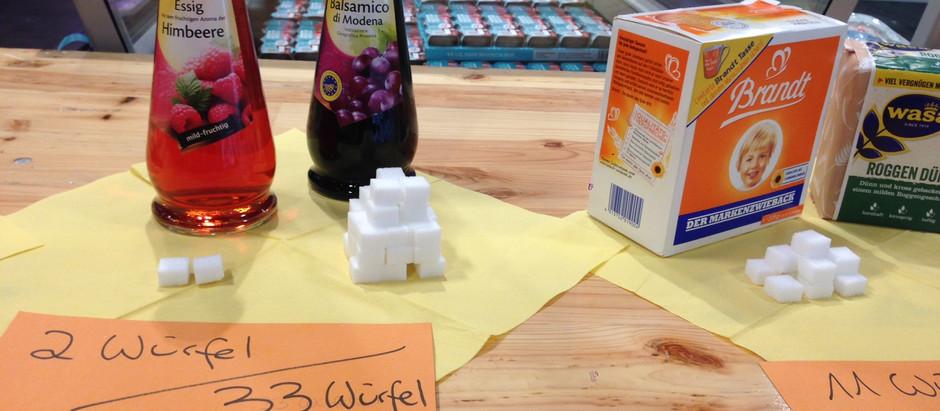 Versteckte Zucker in Lebensmitteln