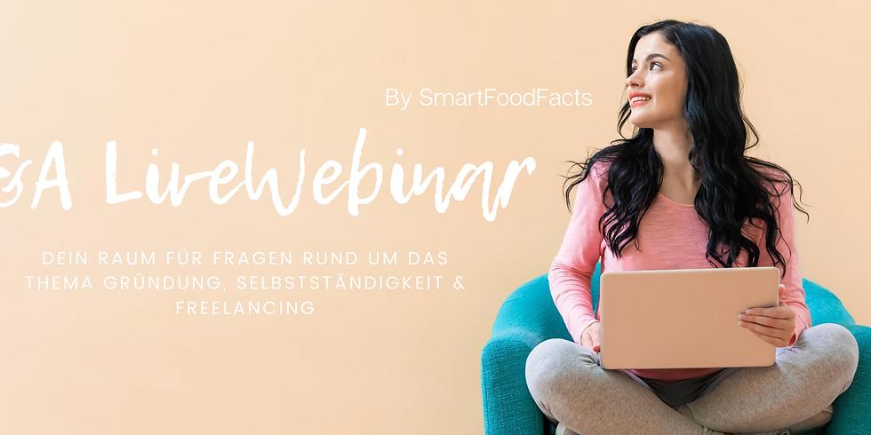 Q&A - Selbstständigkeit & Freelancer-Tätigkeit in der Ernährungsberatung