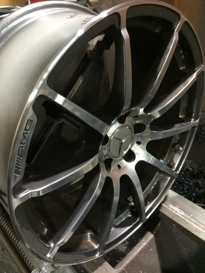 AMG rim good as new!