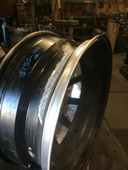 Wheel repaired by PROMAC