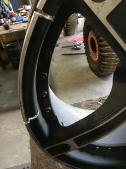Custom section welded