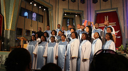 Chorale des USA au 15 août