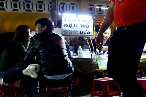 Street food fair in Hoi An, Vietnam