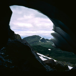 A natural window onto the wild landscape of northern Sweden