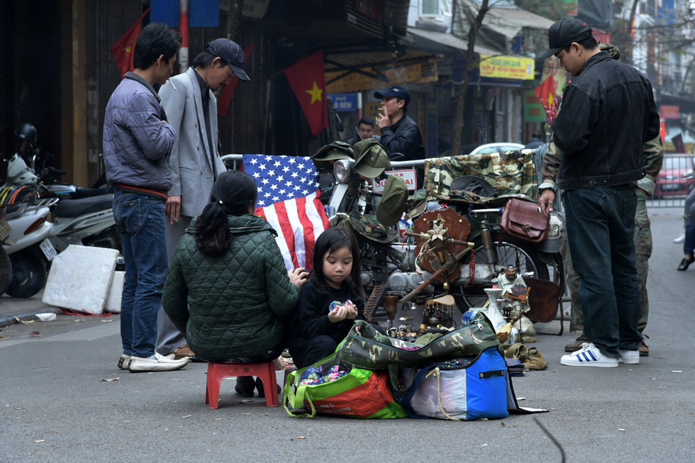 America for sale in Hanoi, Vietnam