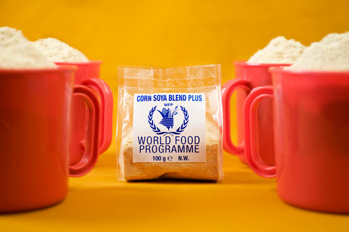 Product promotion for the WFP