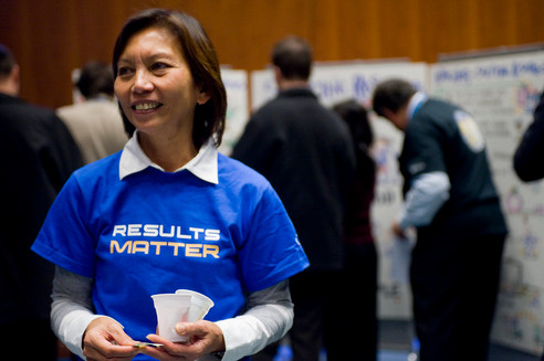 Results Matter Fair at the WFP HQ in Rome, Italy