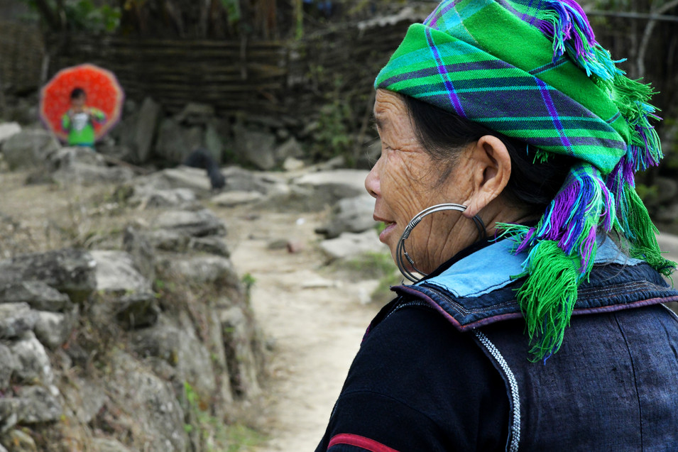 The path where youth and age meet in Sapa, Vietnam