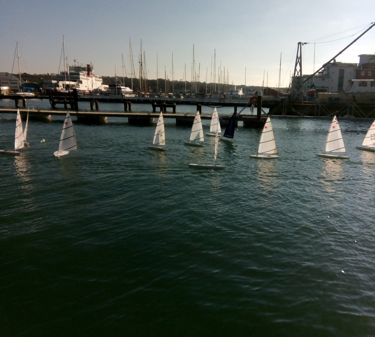 RC Laser racing at the CCYC