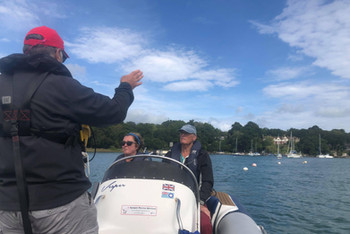 Powerboat Training at the CCYC