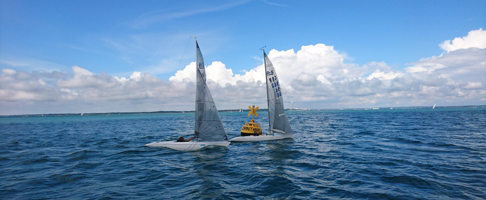 CCYC Buoy in the Solent