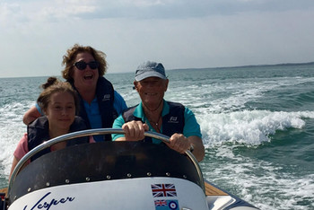 RYA Training out on the water