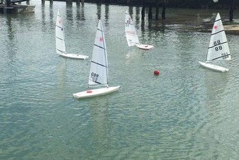 RC Laser racing in the CCYC basin