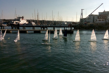 RC Lasers in Cowes