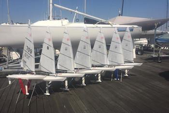 RC Laser Fleet in Cowes