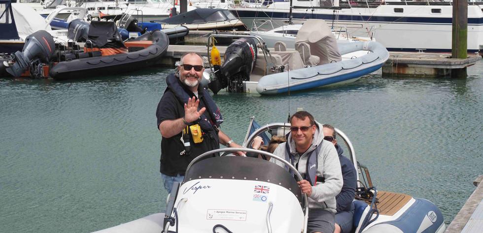 Powerboat Training