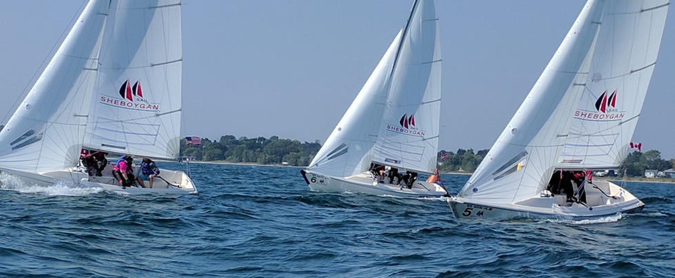 Sailing in the Solent