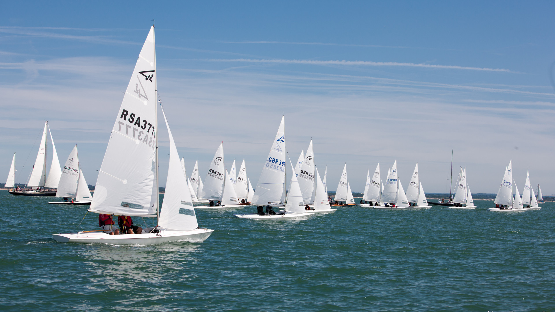 Flying Fifteen Fleet racing
