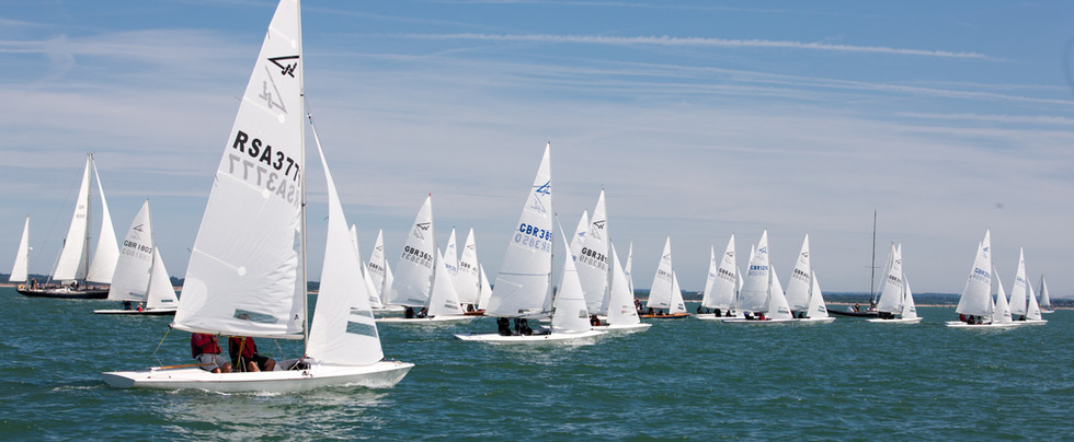 Flying Fifteen Fleet racing